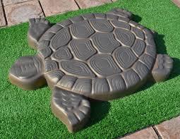 Turtle Planter Amazon Com Turtle Stepping Stone Mold Concrete Cement Mould Abs