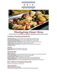 thanksgiving made easy brix catering events