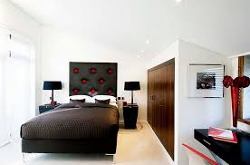 black and white modern bedrooms red black and white interiors living rooms kitchens bedrooms
