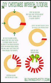 tutorial diy christmas wreath all things thrifty