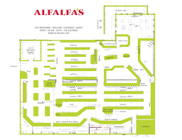 Floor Plan Of A Bakery by Floorplan Alfalfa U0027s Market