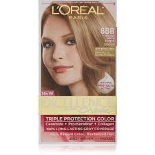 how to get medium beige blonde hair l oreal paris excellence creme hair color 8bb medium beige blonde
