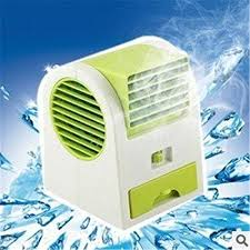 Portable Desk Air Conditioner Air Conditioner Fan Desktop Dual Bladeless Usb Portable Small Fan