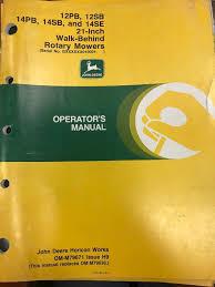 100 manual for john deere 14 sb mower john deere