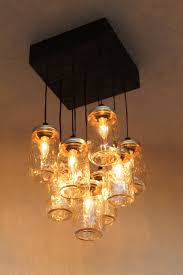 mason jar chandelier the antuanette ball mason jar lighting