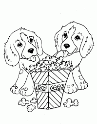 puppy birthday coloring pages coloring home
