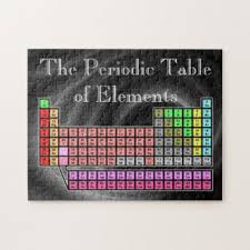 Jigsaw Puzzles Tables by Periodic Table Jigsaw Puzzles Zazzle