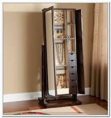 mirror and jewelry cabinet jewelry box mirror stand black mirrored cabinet modern standing