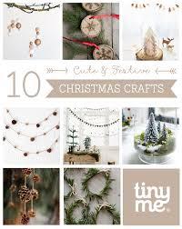 10 cute christmas crafts tinyme blog