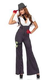 Halloween 1920s Costumes Women U0027s Mob Boss Costume 1920 U0027s Women U0027s Gangster Costume