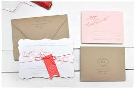 romance script wedding invitation suite smitten on paper