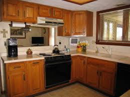 Maple Kitchen Cabinets And Wall Color Tag For Kitchen Wall Colors With Light Oak Cabinets Nanilumi