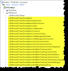 download visual studio 2010 project template for tfs utilities