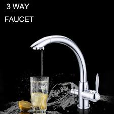 water filter kitchen faucet kitchen water filter faucet chrome 100 copper swivel filter sink