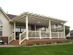 Pergola Canopy Ideas by Deck Awning Ideas U2013 Bowhuntingsupershow Com