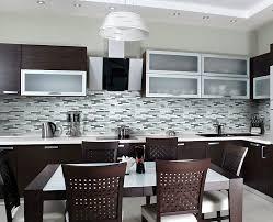 Glass And Stone Backsplash Tile by Iceland Glass Stone Linear Blend Mosaics Our Backsplash Tile