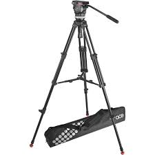 sachtler ace m fluid head with 2 stage aluminum tripod 1001 b u0026h
