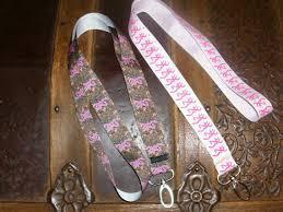 realtree ribbon browning inspired neck lanyard pink browning or camo browning
