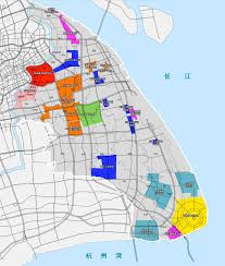 Shanghai Map File Map Of Shanghai Pudong New District Png Wikimedia Commons