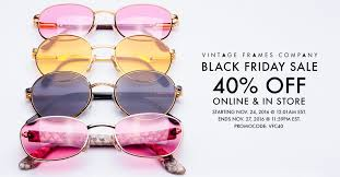 black friday sunglasses sale news and events vintage frames company