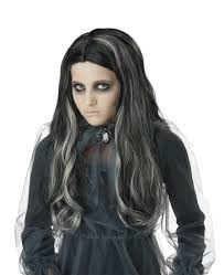 witch costume hairstyles girls bloody mary gothic witch wig costume craze