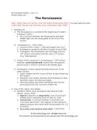 02 renaissance pdf renaissance humanism