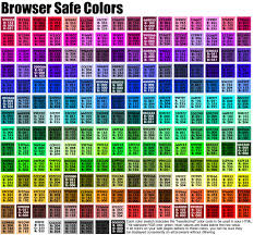 Best Color Codes by 5 Best Images Of Html Color Chart Benzie Color Chart Html Color