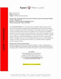 new youth specialist sample resume resume sample