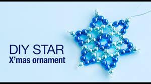 how to make christmas star ornament diy star ornaments