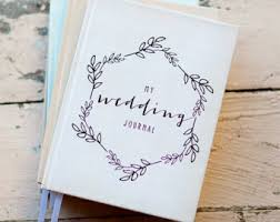 wedding planning journal wedding journal notebook wedding planner personalized custom