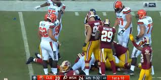 Fumble Meme - fans claim conspiracy over controversial browns redskins fumble ruling