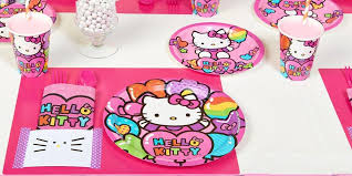 Hello Kitty Party Decorations Celebrating Cat Cuteness Party Planning Ideas U0026 Supplies