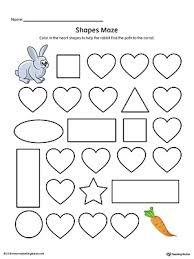 kindergarten math printable worksheets myteachingstation com