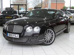 bentley coupe 2010 bentley continental 6 0 gt speed series 51 2d 601 bhp