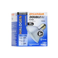 shop sylvania 75 watt dimmable warm white par 30 shortneck halogen