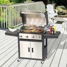 grillk che grill chef 4 burner 48 000 btu propane gas grill