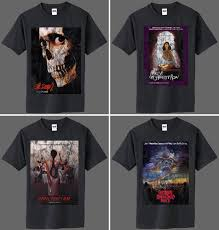 a ton of new shirts at fright rags bloody good horror horror
