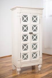 Jewelry Armoire Antique White Furniture Mirror Armoires Jewelry Armoire Tall Jewelry Armoire