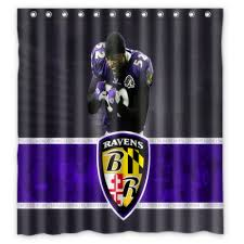 baltimore ravens shower curtain home design inspirations