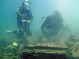 lost city u0027 found off greek coast was formed by natural phenomenon