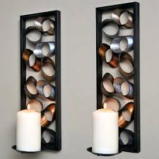 home wall decoration sconces wall decor ideas fancy candle wall sconces for home lighting