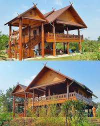 thai homes thailanna home buy your own teak wooden house in thailand