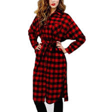 distributors of discount red black flannel shirt women 2017