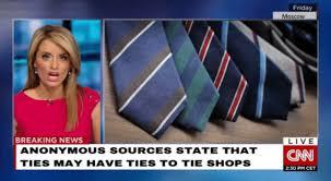 Meme Tie - ties may have ties to tie shops cnn chyron parodies know your meme