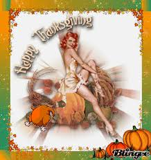 happy thanksgiving pinup vintage vintage thanksgiving