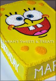 spongebob birthday cakes spongebob cake s treats