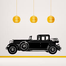 antique rolls royce classic rolls royce phantom i wall decal cutzz