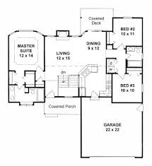 plan 1190 ranch style small house plan w split bedrooms