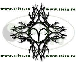 tribal tattoo zodiac symbol of aries ram zodiac tattoos