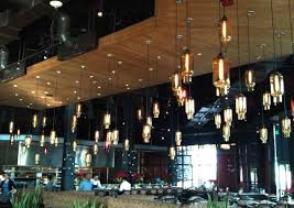 lighting stunning restaurant interior design chic original